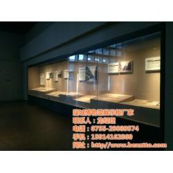 隆城展示(图)、深圳博物馆展柜、展柜