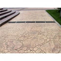 南京园林古建彩色仿古地坪的做法