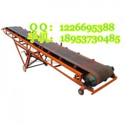 8米长胶带运输机  粮食装卸传送带  铝型材