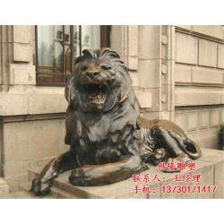 苏州铜狮子,世隆雕塑公司,大型铜狮子