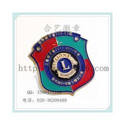 狮子会徽章,徽章价格_徽章制作,长期定制
