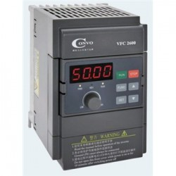 四川康沃变频器CONVO VFC2600-0K40-3P4/2K2