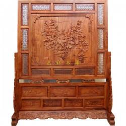 现代木雕屏风供应商、艺修木艺(在线咨询)、