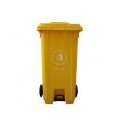 240升脚踏垃圾桶,户外环卫塑料垃圾桶生产厂家