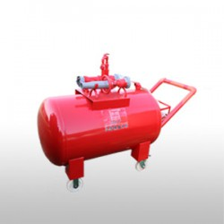 半固定式(轻便式)泡沫灭火装置(碳钢)PY4-8/400