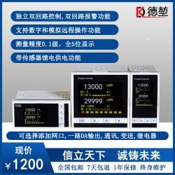 全自动液晶高精度双回路温度控制器220v可调控温仪