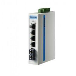 研华1光4电百兆组态系列工业以太网交换机EKI-5525MI