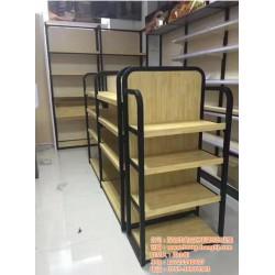 木质货架哪有订做_宏昌货架_木质货架