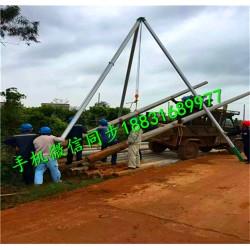 人字抱杆扒杆厂家 优质水泥杆立杆机