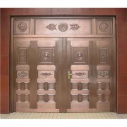范县玻璃铜门@地弹簧铜门价格低-品质好-门