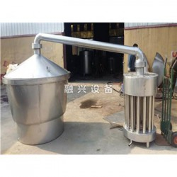 宜宾生料酒酿酒设备 烧火不糊锅煮酒设备工