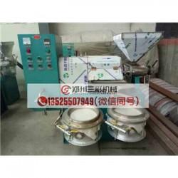 郴州大豆榨油机/小型螺旋胡麻榨油机厂家直