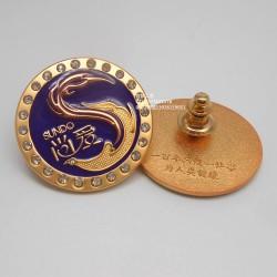 LOGO徽章、LOGO胸针、公司徽章、企业徽章、标致徽章