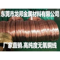 高导电导热OF-Cu无氧铜线价格