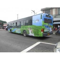 高要公交车车身广告