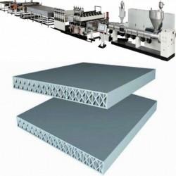 PP一模双出塑料建筑模板生产线设备价格实惠