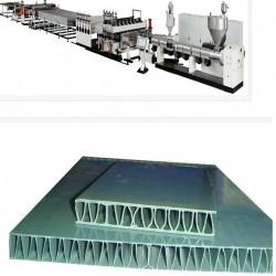 PP中空塑料建筑模板生产线设备性价比高