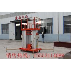 振阳铝合金升降平台.高空作业升降机.清洁维修专用升降车