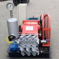 新款GPB-10变频三缸柱塞泵 建筑工地水泥注浆机价格型号