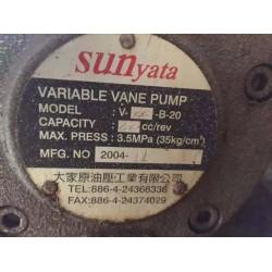 V-22-B-20台湾sunyata油泵