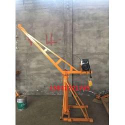 360室内外小吊机500kg旋臂式小吊机高层建筑小型吊机