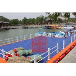 上海浮筒租赁 水上舞台移动码头平台出租 摩托艇浮台码头租赁
