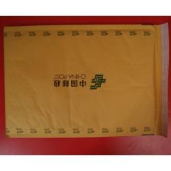 黄色牛皮纸汽泡信封袋定做,印刷牛皮纸气泡信封袋
