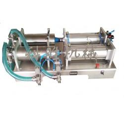 唐山科胜双头液体灌装机 | 护理液灌装机