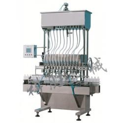 唐山科胜12头自流式灌装机|辣椒油灌装机