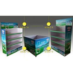 南京商超促销柜 地堆制作 产品包柱制作