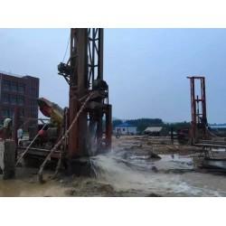 上海地铁井点降水、金山工地马路基坑轻型降水、上海打井勘测井