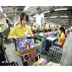 正规劳务派遣澳大利亚玩具厂缝纫工年薪30万