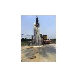 上城井点降水打检测井业务;下城基坑地铁污水池打井降水