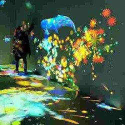 :沉浸式互动投影让你感受灯光与科技的巧妙结合