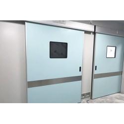 供应医用气密门 防辐射气密门 自动彩钢板平移双开门厂家批发