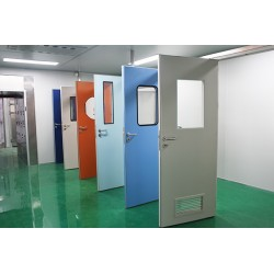 钢制洁净门 不锈钢洁净门 无尘净化车间室内门 医用洁净门厂家