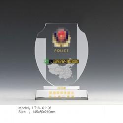共和国卫士奖牌 police奖牌 从警周年纪念品定做厂家