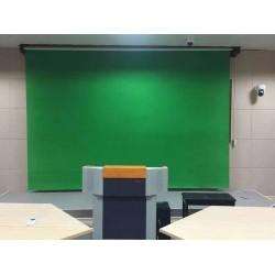 专业摄影电动抠像幕布摄影背景幕布大型电动背景
