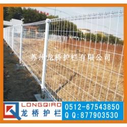 东营园林护栏厂 东营公园景区围墙护栏网 龙桥订制双圈网