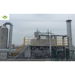 浓缩式催化燃烧废气净化机--东莞塘厦中仁环保