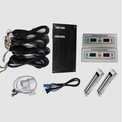 二门三门四门电子互锁,风淋室互锁,气阀电子联锁带磁力锁