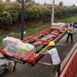 公路三轴摊铺机 全自动桥面整平机 公路隧道滚筒式铺平机