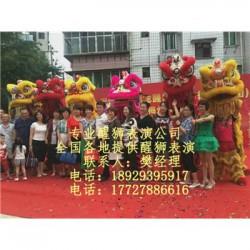 天津开业醒狮,天津舞狮表演,天津舞龙舞狮