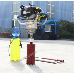 轻便取芯30米的背包钻机 可以背着走的轻便型取芯勘探钻机