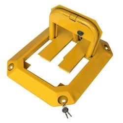 厂家直销  粤盾交通防压八角锁车位锁汽车地锁加固车锁