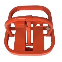 粤盾交通O型手动车位锁防压车位锁占位停车设备汽车地锁