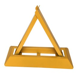 粤盾交通A型三角车位锁地锁手动车位锁防压车位锁占位汽车地锁