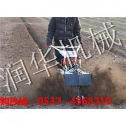 手扶式开沟培土机  深度可调节微耕机   云